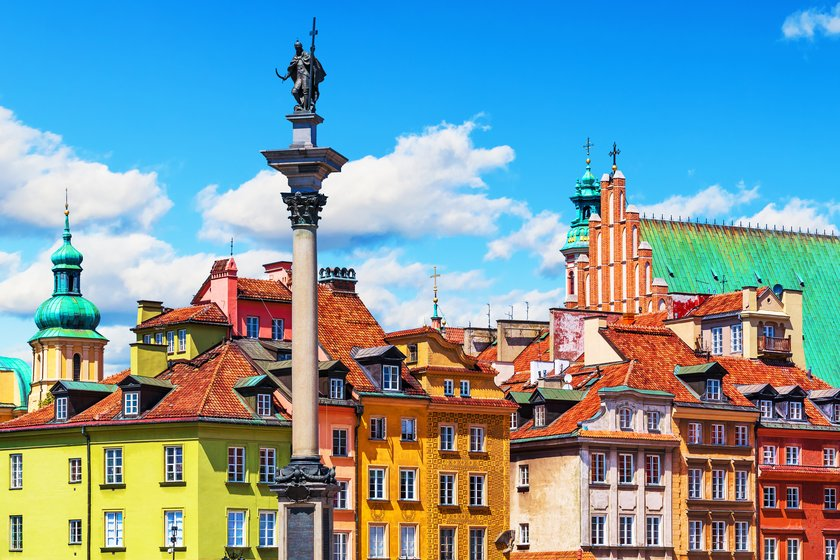 شهر قدیم ورشو، لهستان